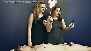 Mistress And Her Friend Slave Chastity Shock Torture