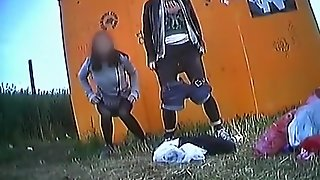 Rock Festival Peeing Compilation