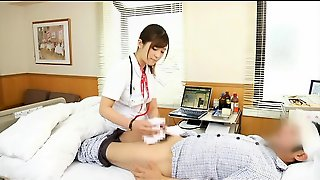 Asian, Japanese, Babe, Handjob, Uniform