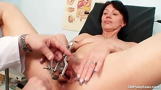 Her Pussy Needs An Enema From Doctor