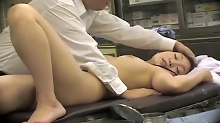 Curvy Japanese Naughty Nurse Gets Dicked And Creampied