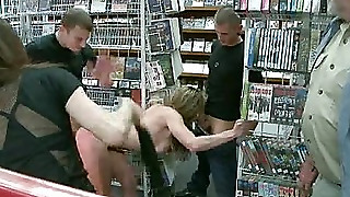 Felony Is Tied Up And Pushed To Her Limits In Public
