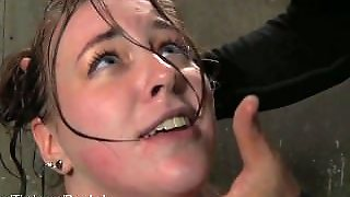 18 Year Old Madison Leigh Gets Washed And Examined To Become A Bdsm Slave