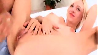 Young Blonde With Really Big Boobs Fucking