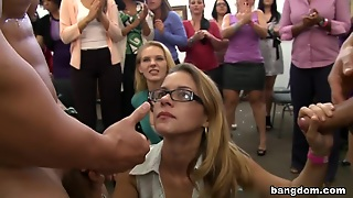 Office Party Cock Blowout