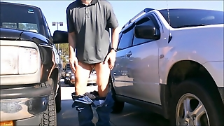 Public Nudity In The Parking Lot