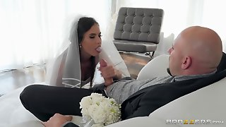 Beautiful Bride Happily Cheats On Her Wedding Day