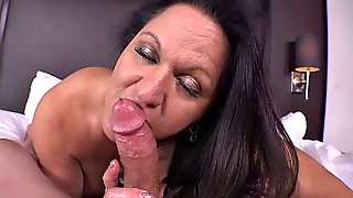 Anal Fucked And Pussy Creampie Gilf Pov Hd