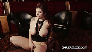 Big Breasted Tattooed Lucia Love Sucks Strong Long Bbc In 69 Pose