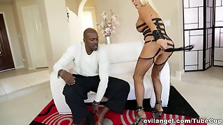 Hottest Pornstars Lexington Steele, Nikita Von James In Crazy Hd, Milf Sex Movie