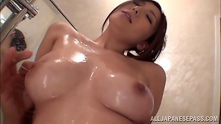 Lustful Japanese Couple Fucking Doggy Style In The Bathroom