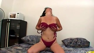 Hot Mature With Big Tits Toys Her Vagina