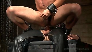 Game Show, Slave, Collared, Leather Mask, In Chains, Domination, Gays, Gay Anal, Cock Riding, Hd