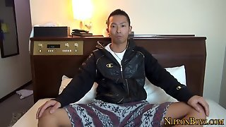 Japanese Gay Jizzes Cock