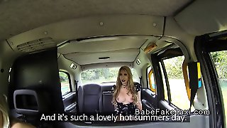 Nasty Lesbians Toying In Fake Taxi