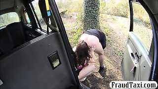 Huge Juggs Woman Pounded By Fake Driver For A Free Fare