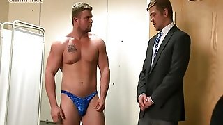Gay, Cock, Hardcore, Rough, Fucking, Office