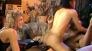 Three Horny Hookers Into A Hot Fffm Foursome With A Black Guy