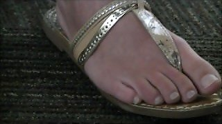 Blonde College Girl Feet