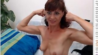 Amateur, Webcam, Fbb, Muscle