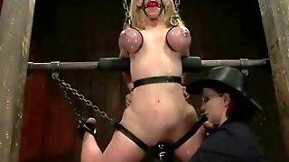 Sadomaniac Bondage Woman Gore Play
