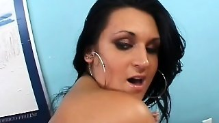 Attractive Brunette Milf Corina Jayden Loves To Bounce On A Hard Cock