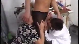 Big Tits Matures Share An Old Dick With A Threesome