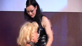 German Mistress And Tiny Slave Girl