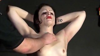 Throat Whipping And Erotic Torture Of Crying Slave Girl Isabel Dean