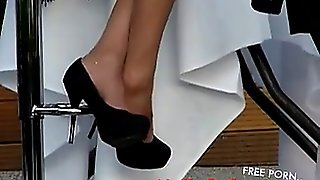 Candid High Heels Amateur