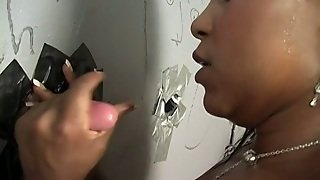 Black Milf Called Egypt Enjoys Playing With A Gloryhole Weiner