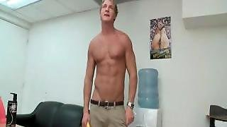 Muscled Blond Sucks And Fucks Gay Porn Part5