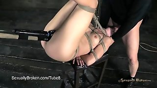 Chastity Lynn Tied Up, Suspended  Fucked  5 Others