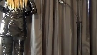 Domina, Fetish Mistress, Boots Pvc, Pvc Coat, Fetish Outfit, Corset Mistress, Pvccoat, Webcam Amateurs