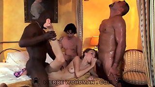 Sexy Teen Beata Gang Bang