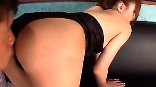 Stunning Asian Race Queen Ass Teased And Boob Sucked By A Fan