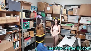 Shoplifting Teen Sucks Cop