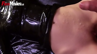 Dudes In Masks Fuck Latex Queen Bitches Intensively