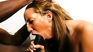 Throat Fucked By An 11Inch Bbc