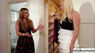 Horny Stepmom Tanya Tate Squeezes Teen Kylie Page Big T