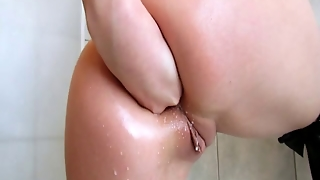 Kinky Mistress Fists Herself In The Ass