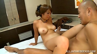 Japanese Mom Miku Sunohara Gets Her Snatch Licked And Pounded
