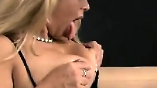 Thick Blonde Mother Squirting A Lot Of Milk