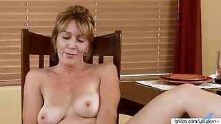 Lonely Wife Gown Grabbing