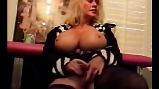 Blonde With Big Boobs