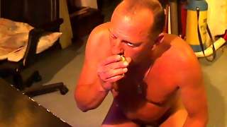 Shaved Poppers Gay Sniff