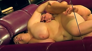 Bbw Fucked In Sex Toy Heaven