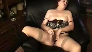 Chubby Solo Mature In Lingerie Toys