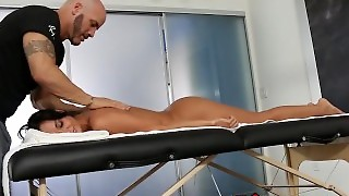 Big Boobs, French, Reverse Cowgirl, Cumshot, Hardcore, Oiled, Cock Sucking, Big Tits, Brunette, Massage, 3Rdmovies