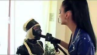 Kinky, Femdom, Video, Bdsm, Fetish, Spanking, Maid, Tranny, Three, Latex
